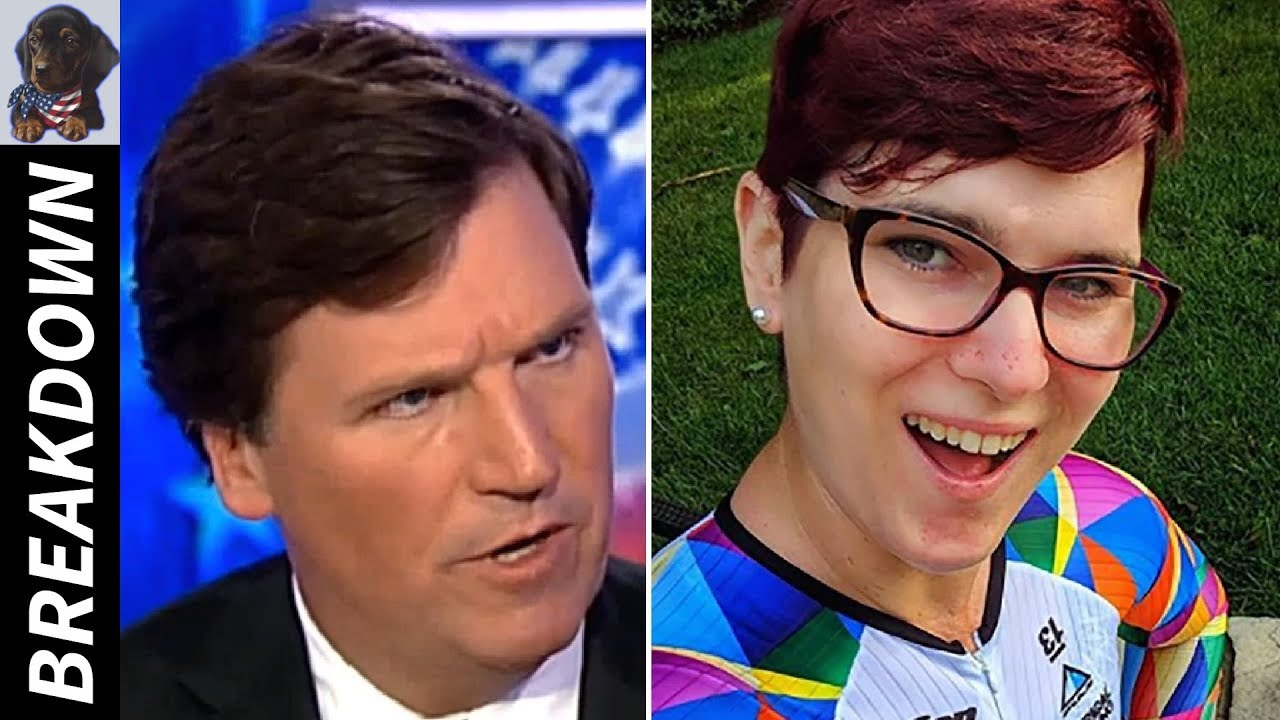 """Trans Cyclist Wins WORLD Championship, Tucker Questions Her """"Right to Compete"""""""