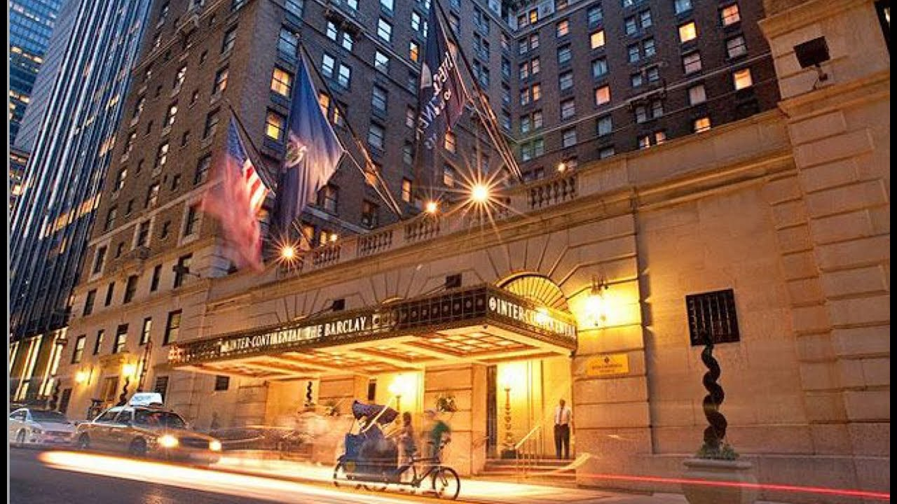 Intercontinental Barclay New York 5 Hotel Bar Review A Youtube Superstar Youtube
