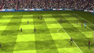 FIFA 14 iPhone/iPad - FC Barcelona vs. Rayo Vallecano