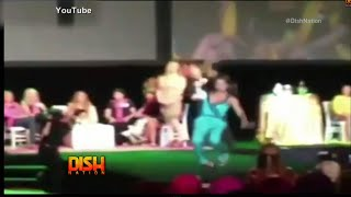 Porsha Williams Reacts To Kenya Moore's Recent Runway Fall In Las Vegas!
