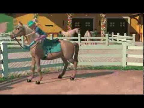 Video musical de Barbie y sus hermanas en una historia de ponis