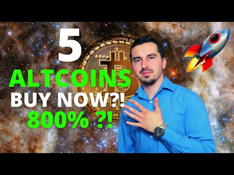 Top 5 Altcoins I'm Buying Now 🚀   CRYPTO May 2021   Massive Potential 800% ?! 🚀  Dogecoin Plunges😱  