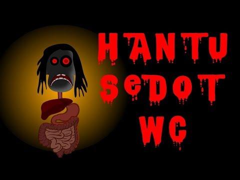 Kartun Horor - Hantu sedot WC - Kartun Lucu - Kartun Seram