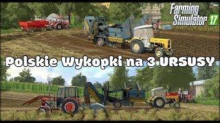 POLSKIE WYKOPKI z 3 Ursusami - Warmińsko Mazurskie Official - Farming Simulator 17