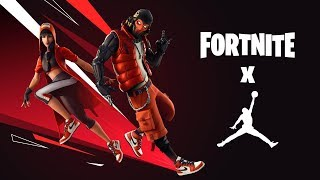 "FORTNITE X JORDAN HAS ARRIVED! NEW SKINS ""REBOUND"" AND ""DRIBBLE! NEW ""CITY CENTER"" MODE! Fortnite"