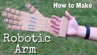 Cómo Hacer Un Brazo Robótico En Casa Fuera De Cartón