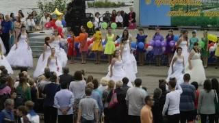 г. Николаевск - на - Амуре, день города 2016, парад невест