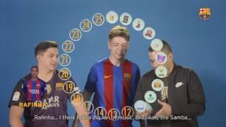 BARÇA EMOJIS: XBuyer & IamSteve & Pumuscor (Youtubers Edition)