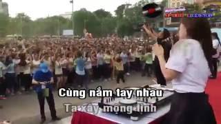 Kenny Quang - Trọn Kiếp Yêu Em -karaoke - Nối Vòng Tay Lớn chế