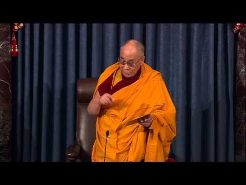 Sen. Patrick Leahy Introduces The Dalai Lama