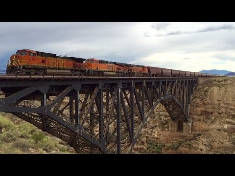 [HD] Railfanning the BNSF Transcon in Northern Arizona! (Day 2: Holbrook to Flagstaff)