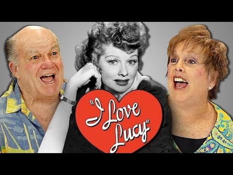 ELDERS REACT TO I LOVE LUCY