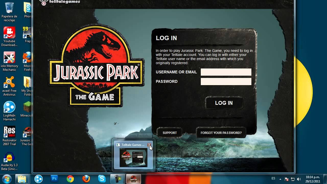 Descargar e Instalar Jurassic Park The Game Para Pc Full