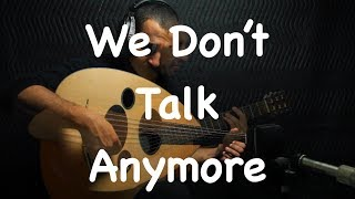 Download Video We Don't Talk Anymore - Charlie Puth feat. Selena Gomez (Oud cover) by Ahmed Alshaiba MP3 3GP MP4