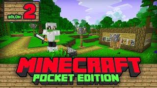 Minecraft PE Hayatta Kalma Serisi B.2 - Kurbağiye, Ağaç Ev, Köprü ve TARIM!