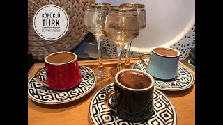 Köpüklü Türk Kahvesi Nasıl Yapılır?