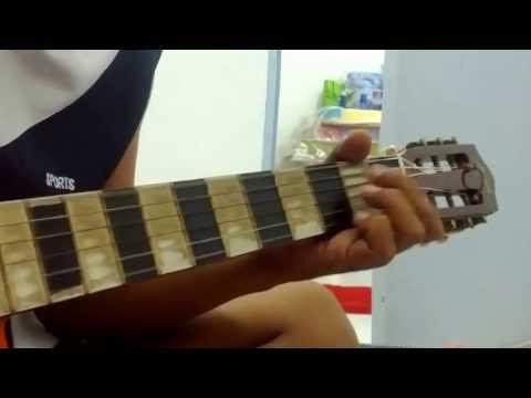Gadis Bertudung Putih Guitar Cover