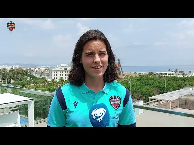 Nuria y Fiamma, preparadas para el derbi del Levante UD Femenino frente al Valencia CF
