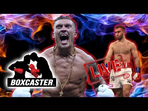 Boxing News Live: Usyk vs. Gassiev, Ancajas the New Pacquiao?, Yafai - Edwards Beef | BOXCASTER