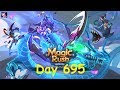 Magic Rush: Heroes - Day 695 (Active Troy Lv.95 VIP4 at Merger 509)