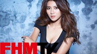 FHM 2015 一月號 Cover girl 蔡黃汝 - 豆式偷車須知
