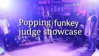 Popping funkey | judge | showcase | 2017