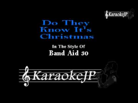 Do They Know It's Christmas (Karaoke) - Band Aid 30