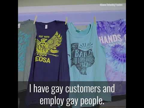 A T-Shirt Maker's Fight Against Government-Forced Speech