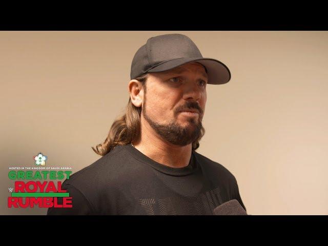 AJ Styles works best off his emotions: WWE Exclusive, April 27, 2018