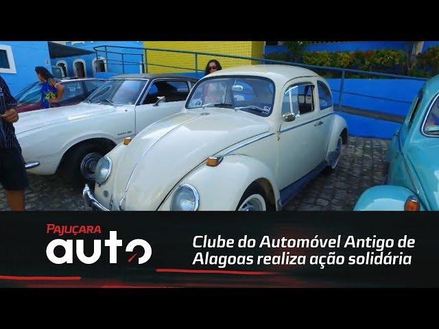 Clube do Automóvel Antigo de Alagoas realiza ação solidária no Lar São Domingos