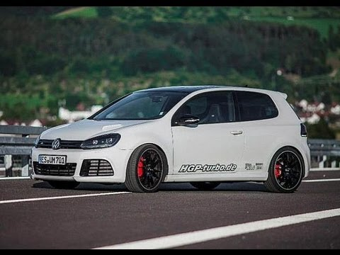 Golf 6 Hgp 3 6 Biturbo 700 Ps Vs Lamborghini Gallardo