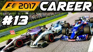 F1 2017 Career Mode Part 13: ENGINE UPGRADE FOR ITALY!