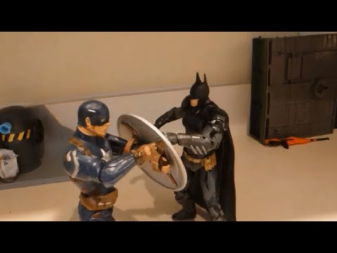 Batman V Captain America: Dawn of War Stop-Motion