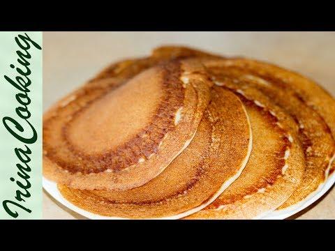 Творожные оладьи (блинчики) | Cottage Cheese Pancakes (Crepes)