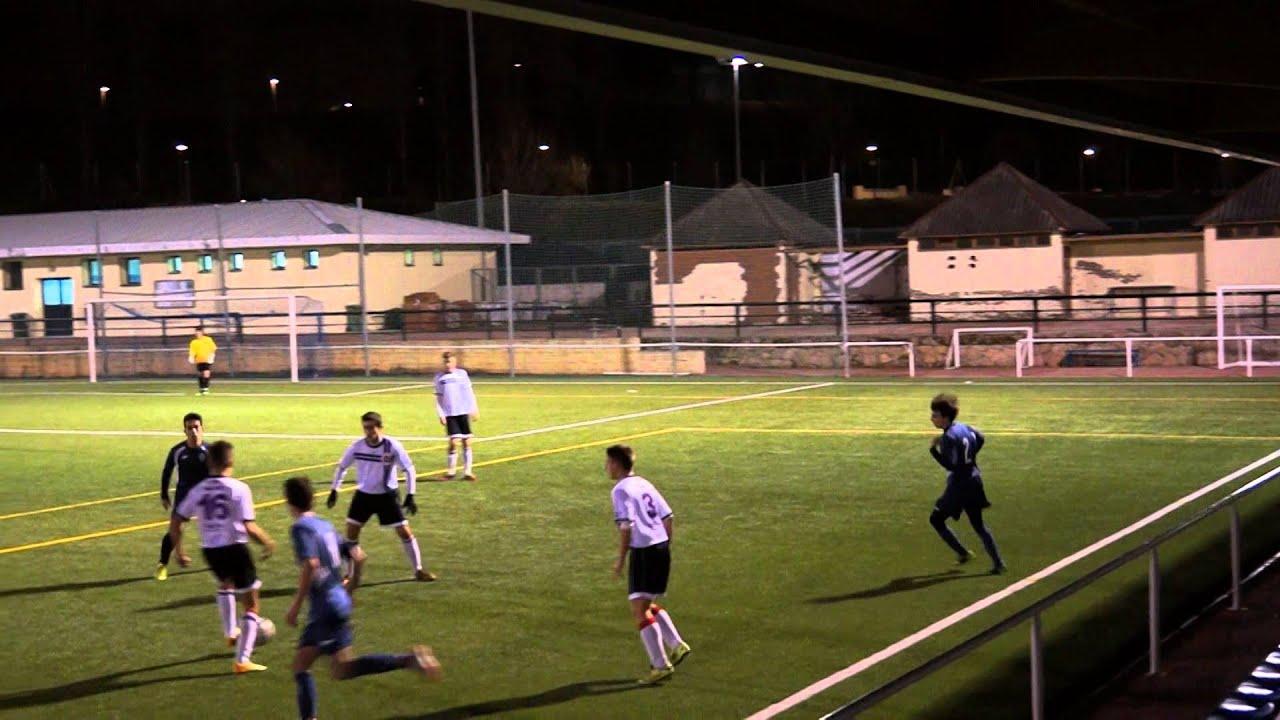 """Download C.D. FUTBOL TRES CANTOS """"B"""" 0-0 A.D. SPORTING HORTALEZA """"C"""" 1ª parte Futbol 01/02/2015"""