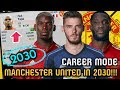 MANCHESTER UNITED IN 2030!!! - FIFA 17 Career Mode (Pogba, De Gea, Lukaku)
