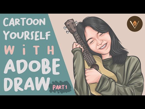 Cartoon Yourself With Adobe Draw | Step-by-step Tutorial (Part 1 Of 3)