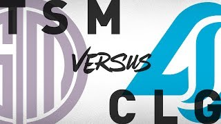 TSM vs. CLG - Week 1 Day 1 | NA LCS Summer Split | TSM vs. Counter Logic Gaming (2018)