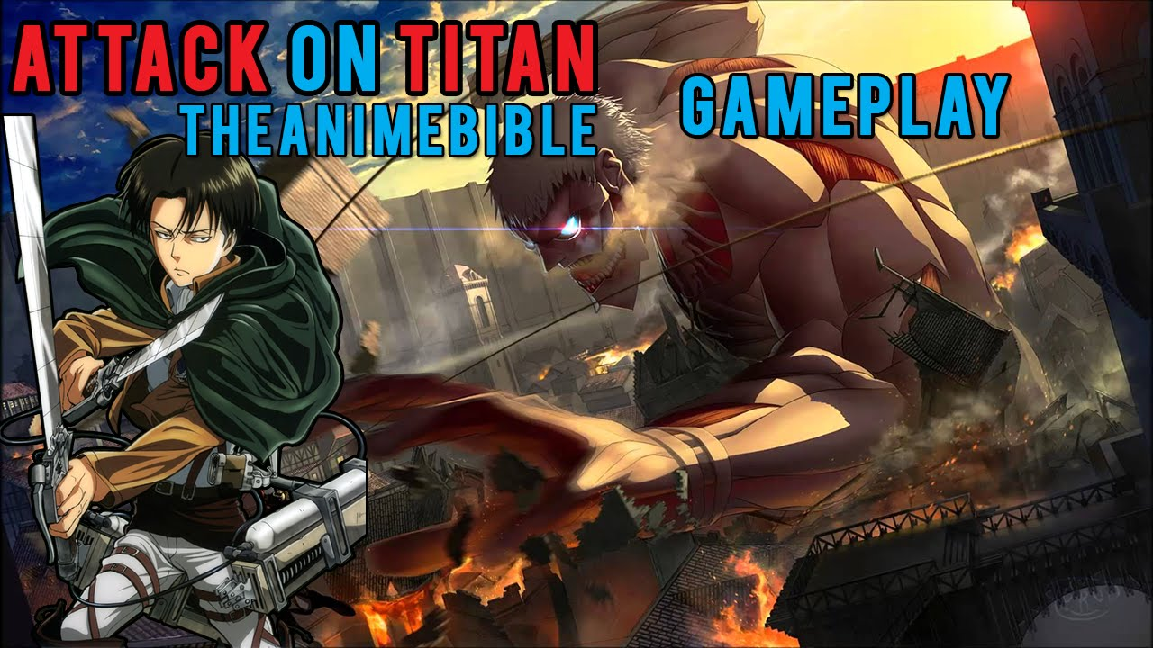 Play as EREN? Attack on Titan Gameplay - (Fan Made Game ...