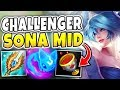 Download A 16 YEAR OLD GIRL GETS CHALLENGER ABUSING SONA MID? HOW IS THIS EVEN POSSIBLE?! - League of Legends