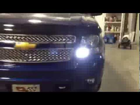 Led Drl And Reverse Lights Hid Headlights 2008 Avalanche Nashville Tn