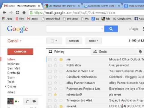 How to open email in new tab in gmail - YouTube