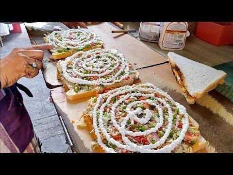 download CHEESE MAYO DHAMAL Sandwich   Indian Street Food