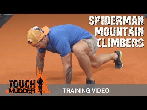 Mountain Climbers Variation: Spiderman Mountain Climbers | Tough Mudder Training