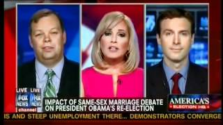 Are Republicans on the Wrong Side of History with Gay Marriage?  Fox News 05.13.12