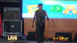 Machel Live in Antigua at STAGE 2013 Float
