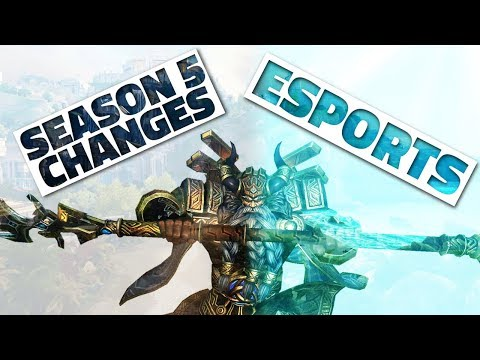 SMITE SEASON 5 CHANGES ANNOUNCED! Esports! (and why you may want to care)