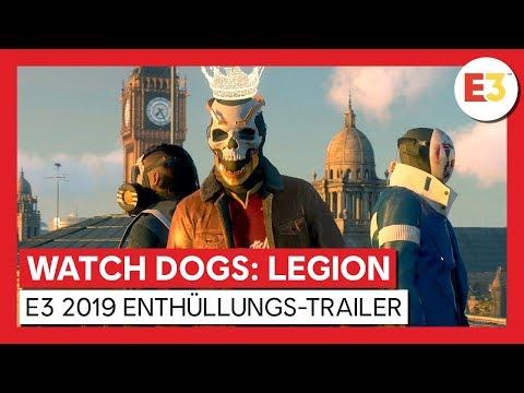 WATCH DOGS: LEGION - E3 2019 WORLD PREMIERE ENTHÜLLUNGS-TRAILER | Ubisoft [DE]