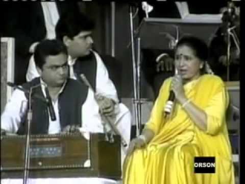 ASHA BHOSLE LIVE IN CONCERT Ashok Kadam