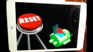 видео Как перезагрузить зависший планшет